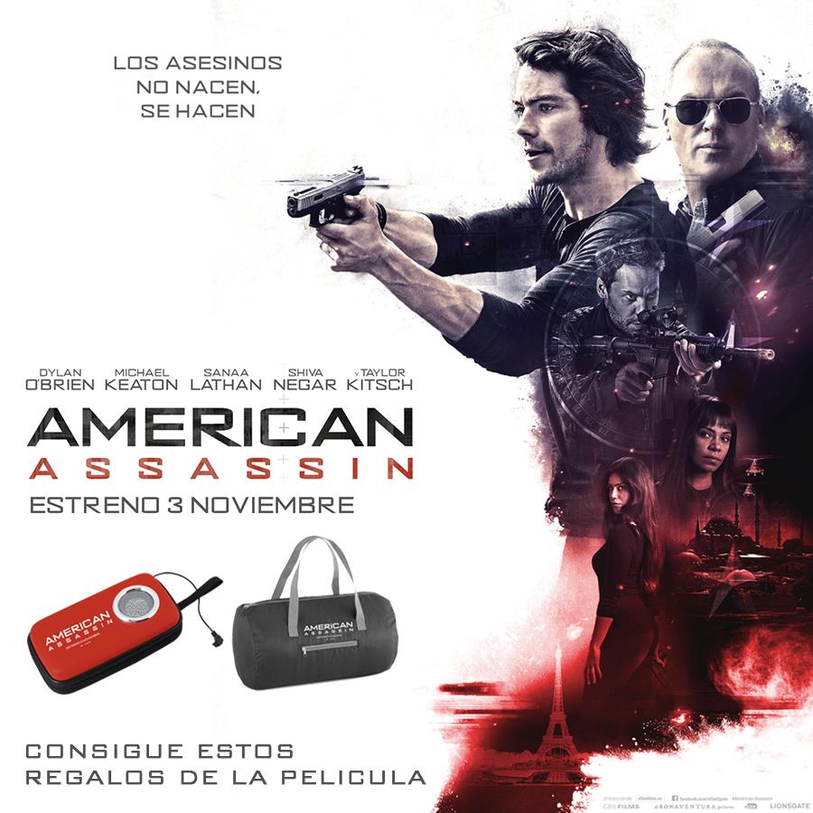 Sorteo 'American Assassin': Tenemos packs de merchandising para vosotros