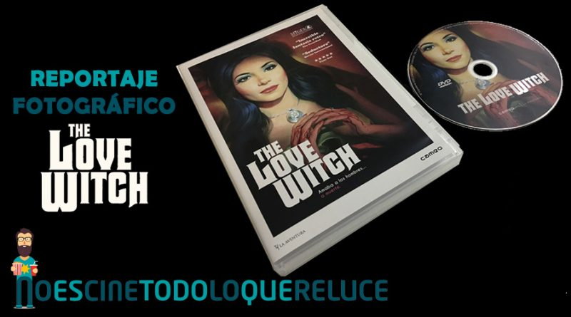'The love witch': Reportaje fotográfico y detalles de la edición DVD