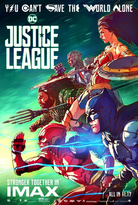 'Liga de la Justicia': Nuevos e ilustrados pósters de los superhéroes