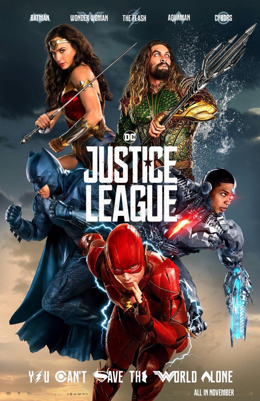 Comic-Con 2017: Nuevo póster de 'Liga de la Justicia'