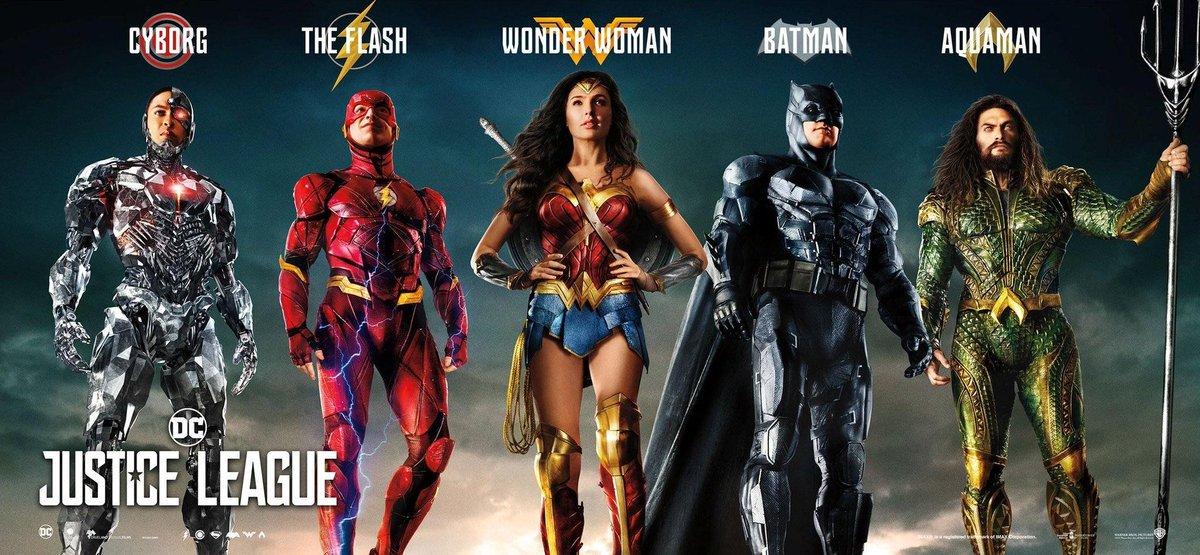 'Liga de la Justicia': Nuevos pósters con el equipo al completo