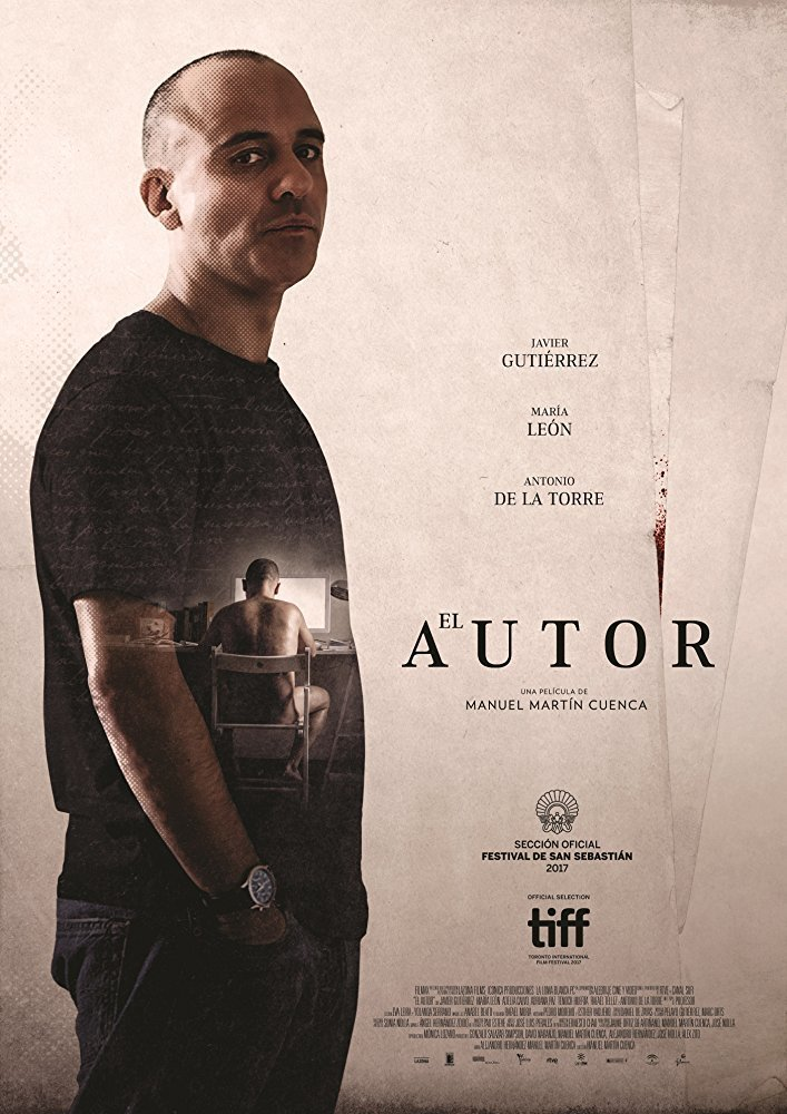 """Pósters de la película """"El autor"""""""