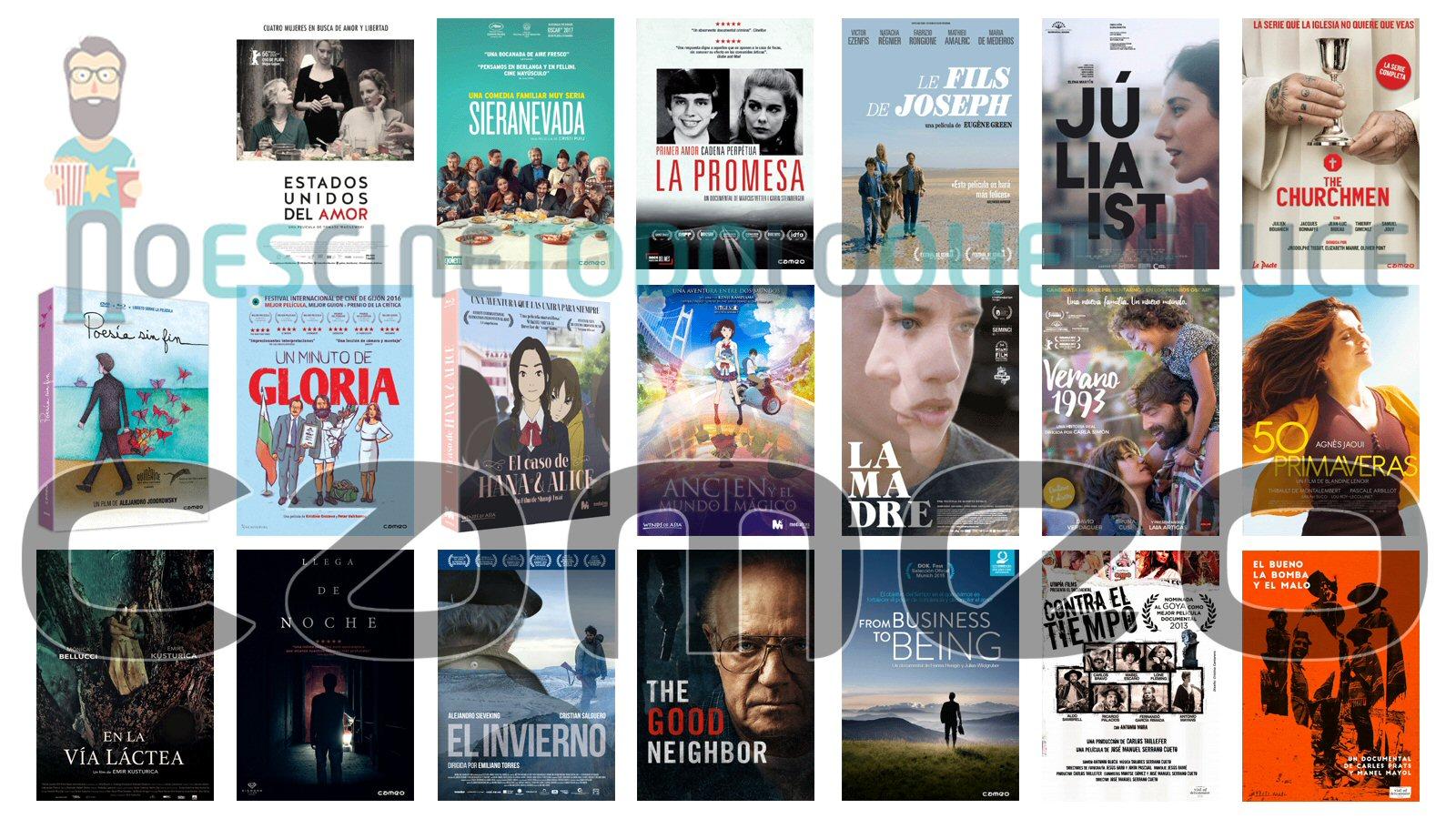 Lanzamientos de noviembre en DVD y Blu-ray de Cameo y Vial of delicatessen