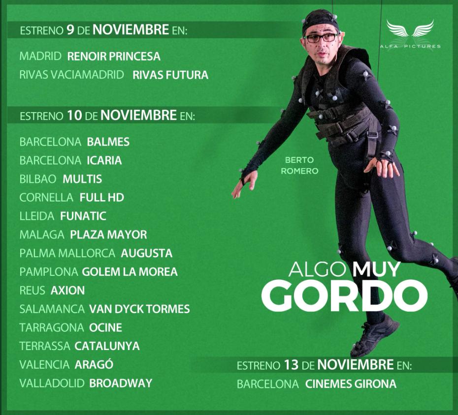 CINES ALGO MUY GORDO
