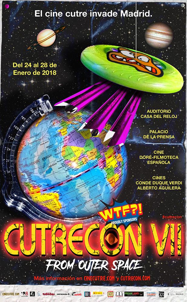 CutreCon, el Festival Internacional de Cine Cutre de Madrid, regresa del 24 al 28 de enero de 2018