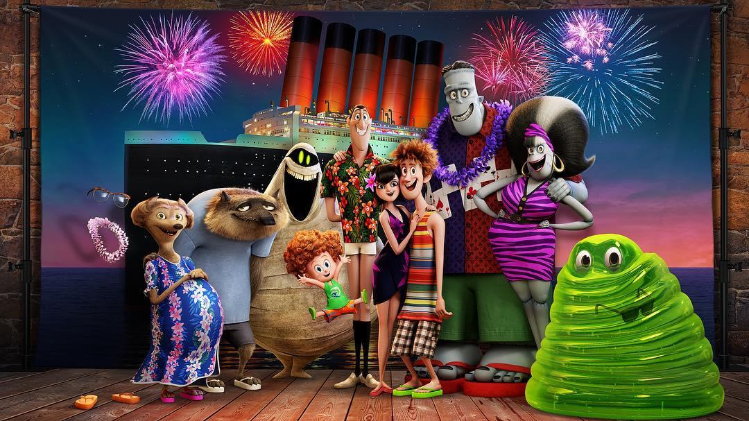 'Hotel Transilvania 3': Primer tráiler y teaser póster de nuestra familia de monstruos favorita