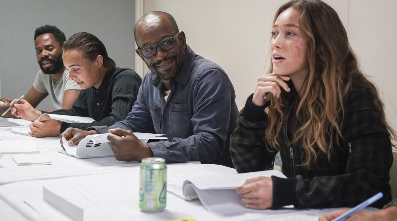 'Fear The Walking Dead': Primer día de Lennie James en el set de la cuarta temporada