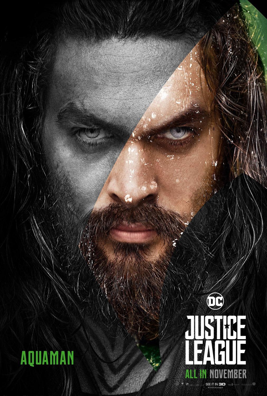 'Liga de la Justicia': Remesa de pósters de personajes
