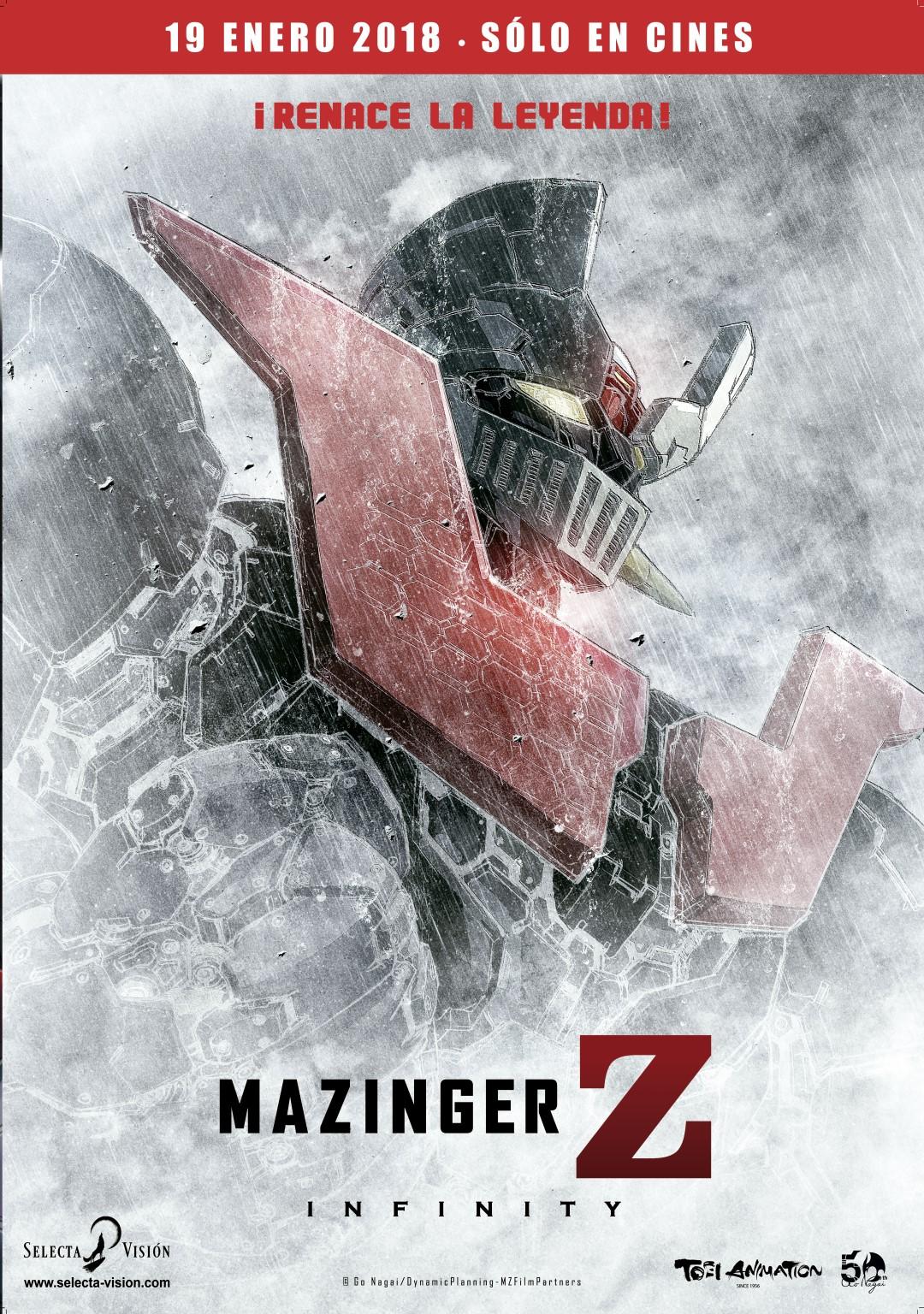 'Mazinger Z Infinity': Póster y tráiler del regreso del mítico robot