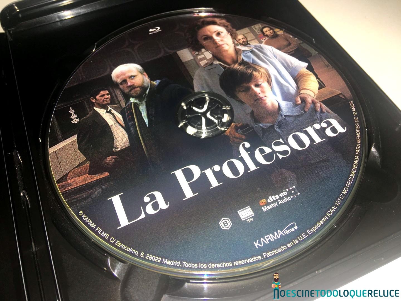 'La profesora': Reportaje fotográfico y detalles de la edición Blu-ray