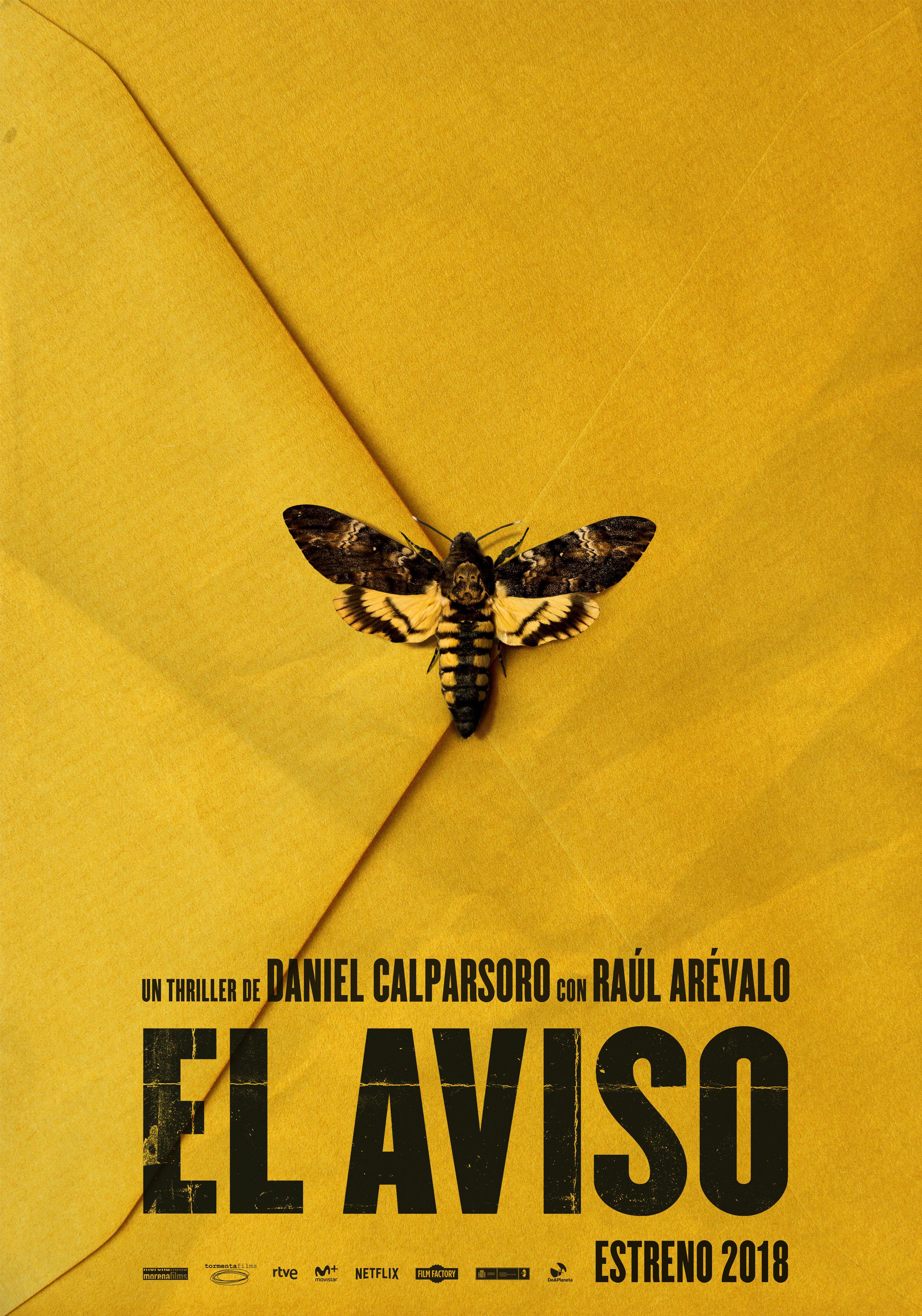 'El aviso': Teaser póster de la nueva película de Daniel Calparsoro