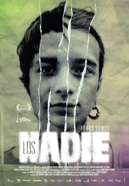 "Pósters de la película ""Los nadie"""