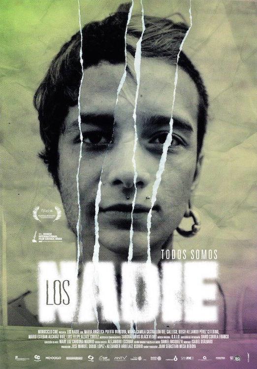 """Pósters de la película """"Los nadie"""""""