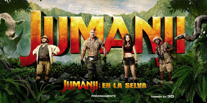 'Jumanji: Bienvenidos a la jungla': Nuevo banner internacional
