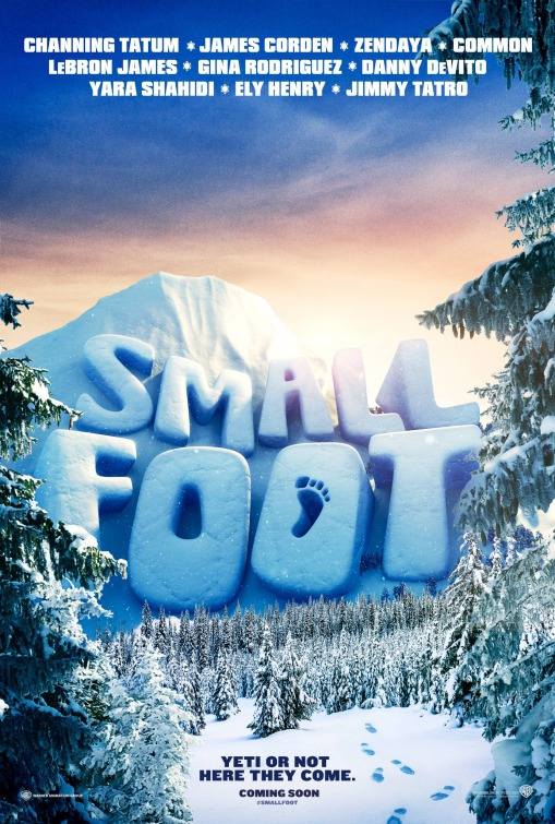 'Smallfoot': Primer tráiler y póster de las nuevas aventuras del abominable hombre de las nieves