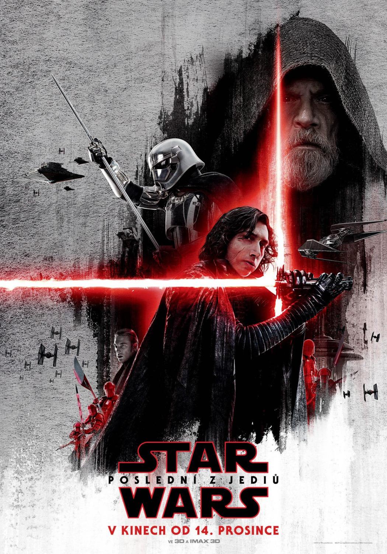 'Star Wars: los últimos Jedi': Kylo Ren al frente del nuevo póster checo