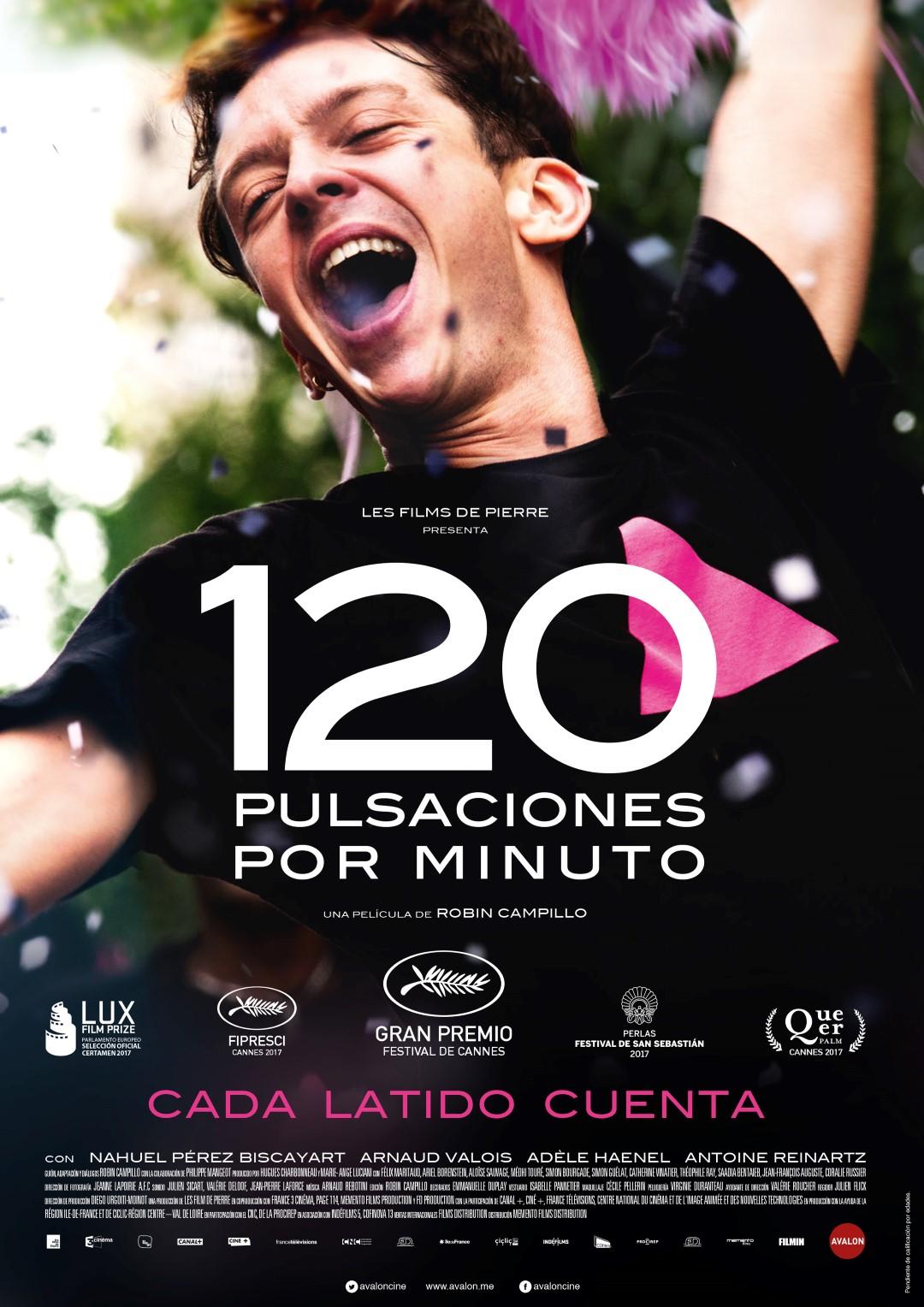 '120 pulsaciones por minuto': Póster y tráiler español de la nueva película de Robin Campillo
