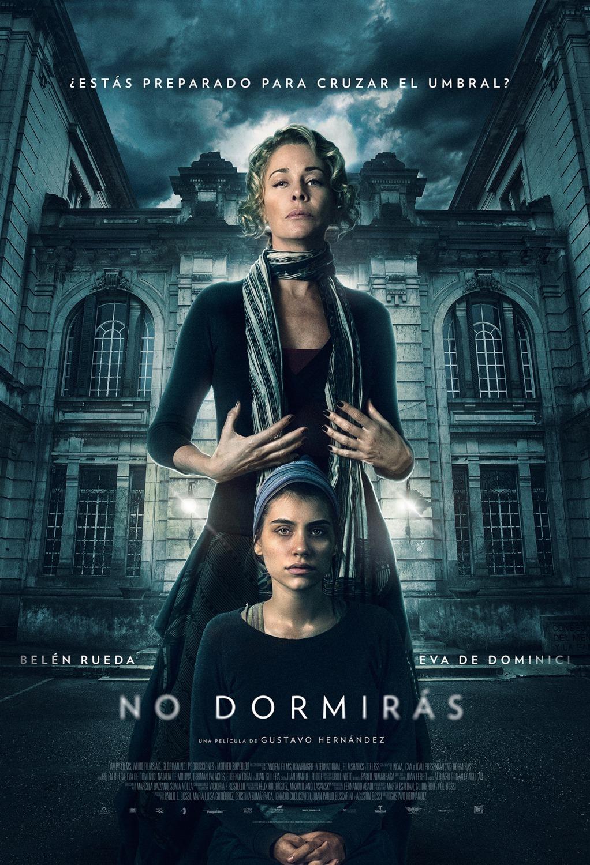 'No dormirás': Primer póster de lo nuevo de Gustavo Hernández con Belén Rueda