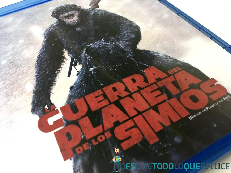 La Guerra del Planeta de los Simios (Bluray)
