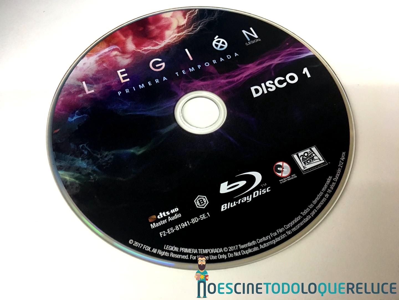 'Legión. Temporada 1': Reportaje fotográfico y detalles de la edición Blu-ray