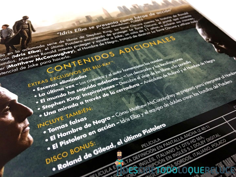 'La Torre Oscura': Reportaje fotográfico y detalles de la edición metálica (Blu-ray)