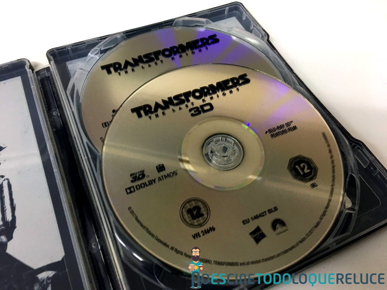 'Transformers: El último caballero': Reportaje fotográfico y análisis de la edición metálica (Blu-ray 3D)