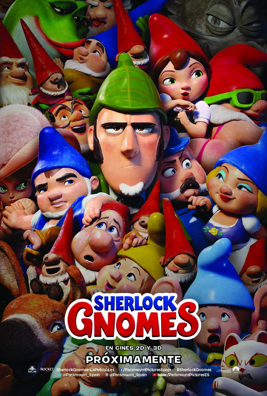 'Sherlock Gnomes': Póster y tráiler del regreso de Gnomeo y Julieta