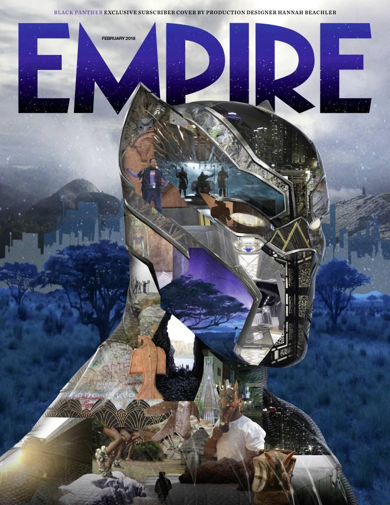 'Black Panther': Empire centra su portada en el superhéroe de Marvel
