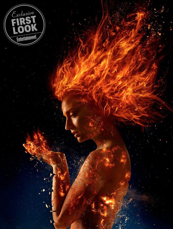 'X-Men: Dark Phoenix': Remesa de imágenes con Jessica Chastain y Sophie Turner, entre otros