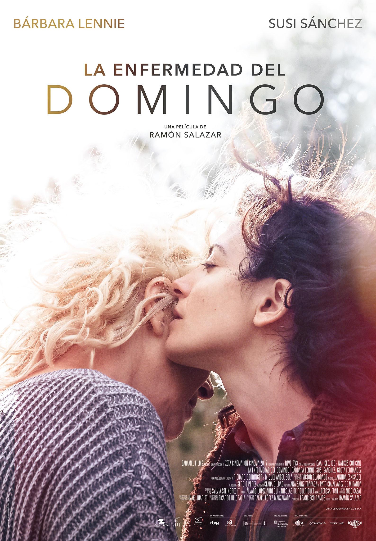 'La enfermedad del domingo': Póster y tráiler de la nueva película de Ramón Salazar