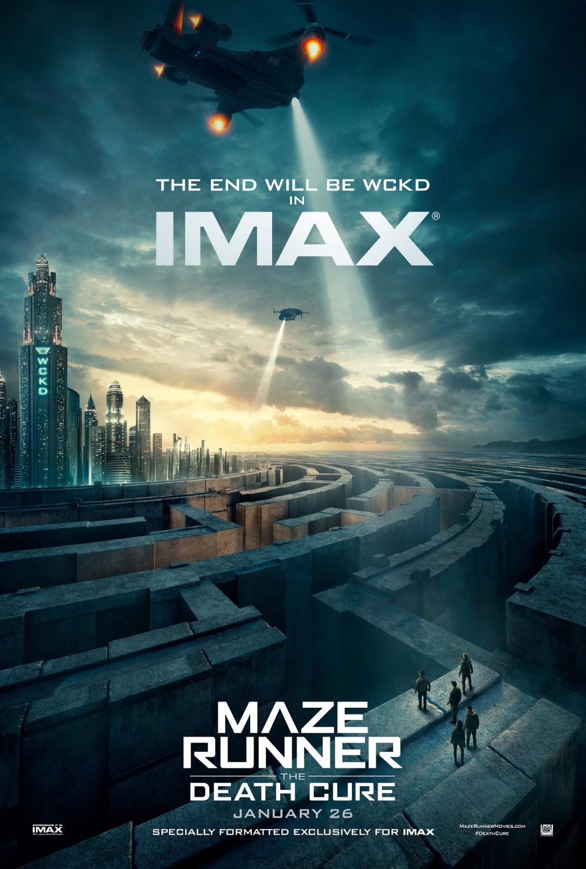 'El corredor del laberinto: La cura mortal': Póster para salas IMAX
