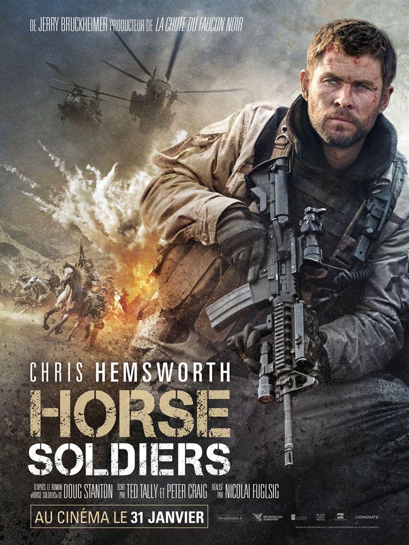 '12 Strong': Póster francés del drama bélico con Chris Hemsworth