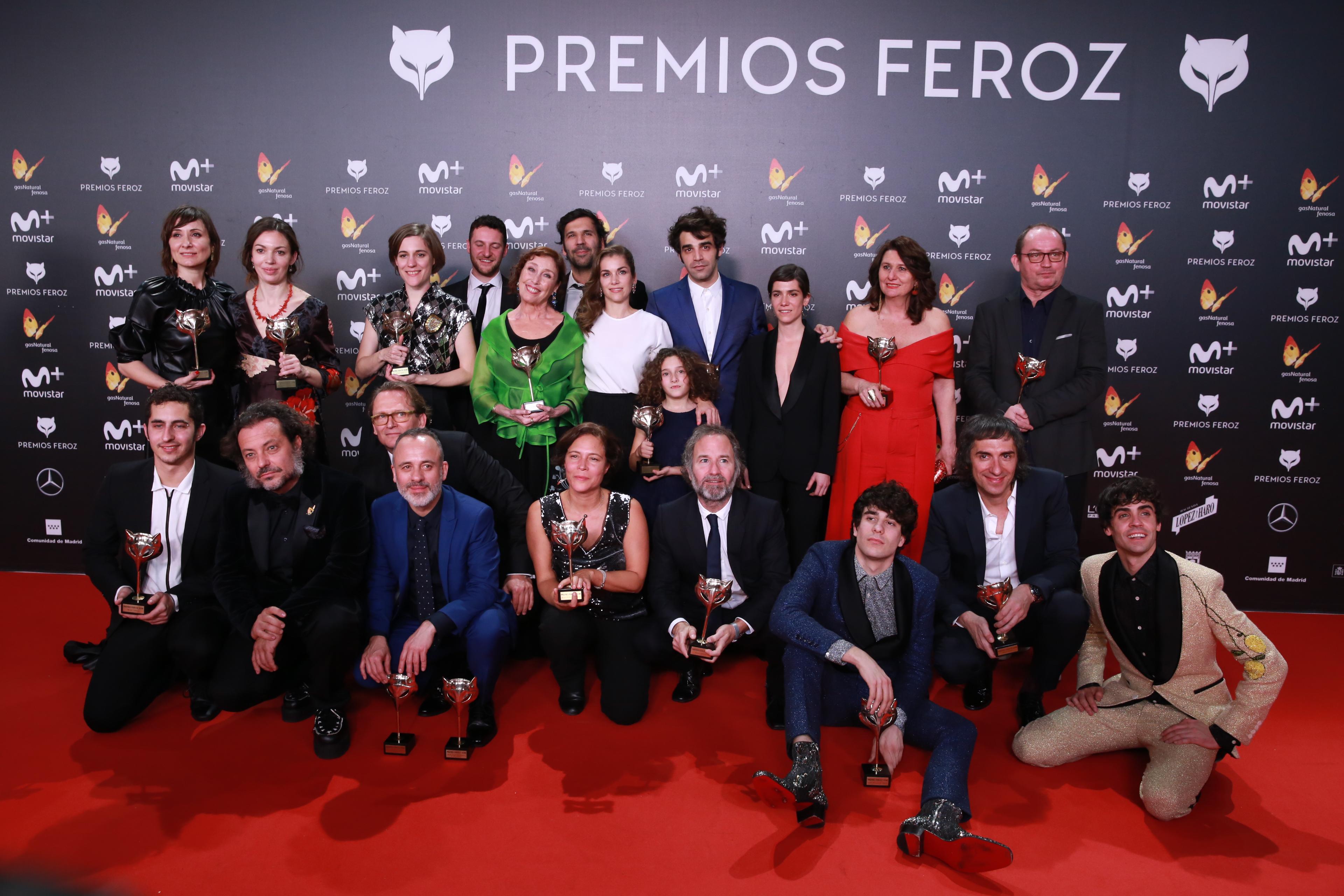 'Verano 1993' y 'Vergüenza' triunfan en los Feroz 2018