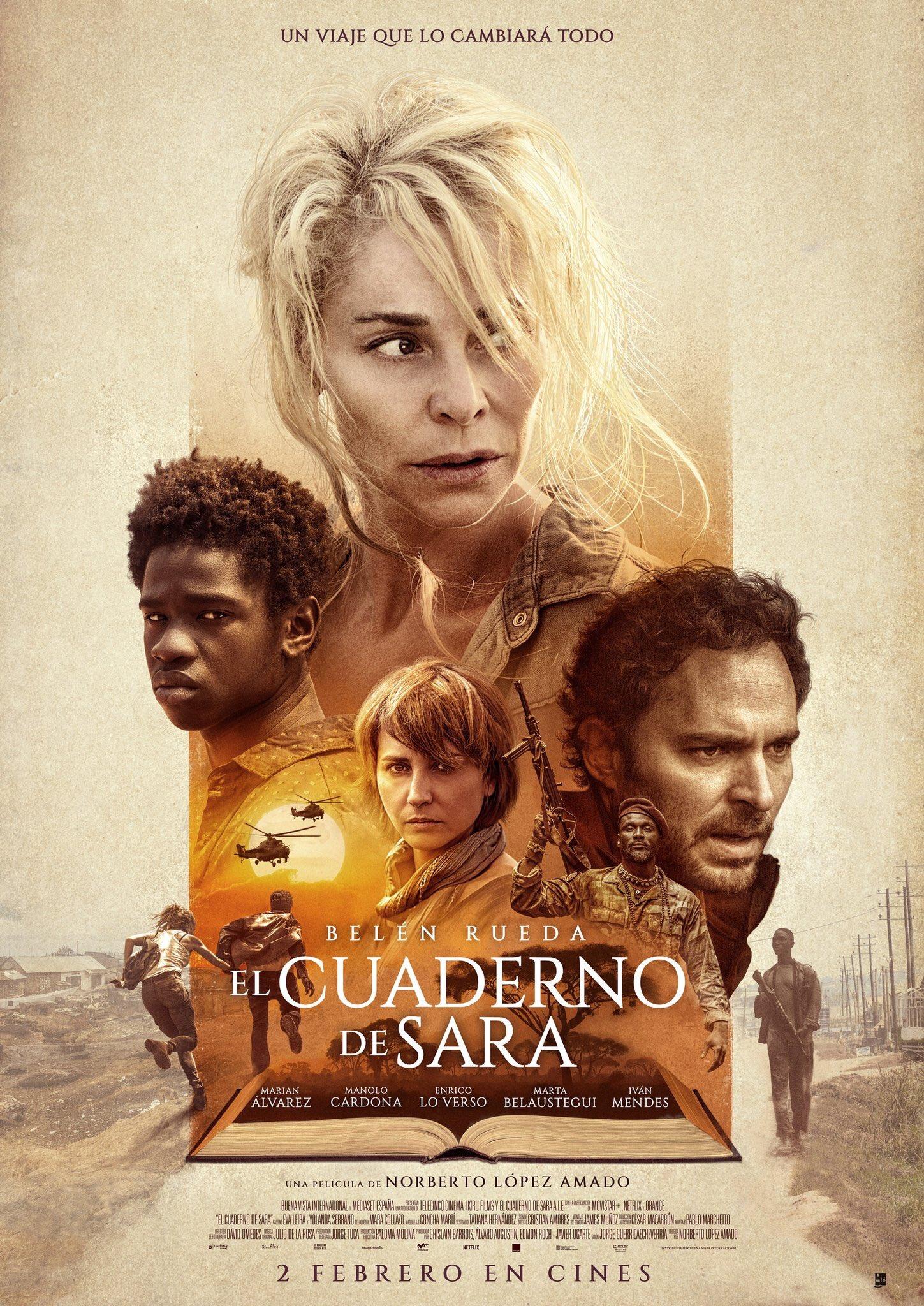 'El cuaderno de Sara': Tráiler y póster de lo nuevo de Belén Rueda