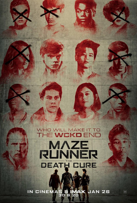 'El corredor del laberinto: La cura mortal': Criba de personajes en el nuevo póster
