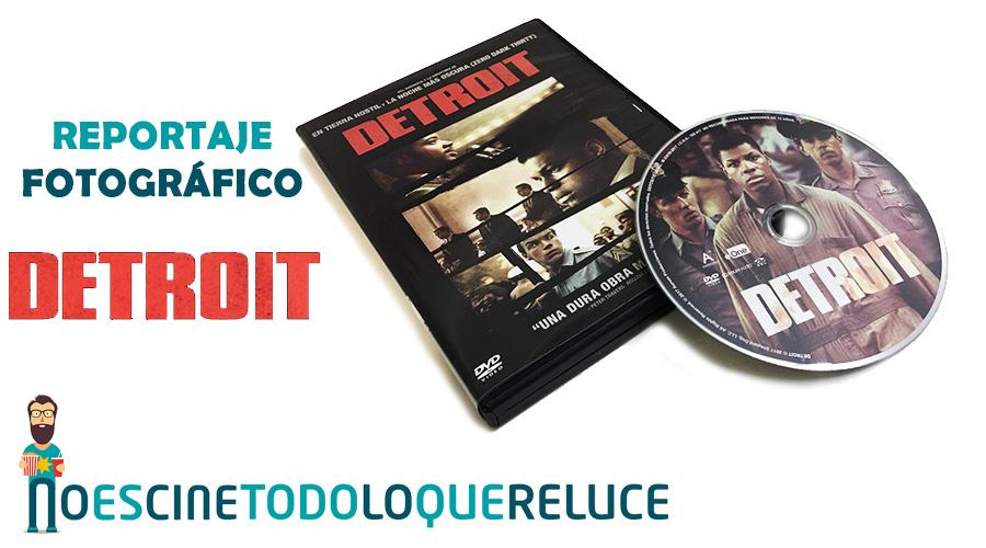 'Detroit': Reportaje fotográfico y detalles de la edición DVD