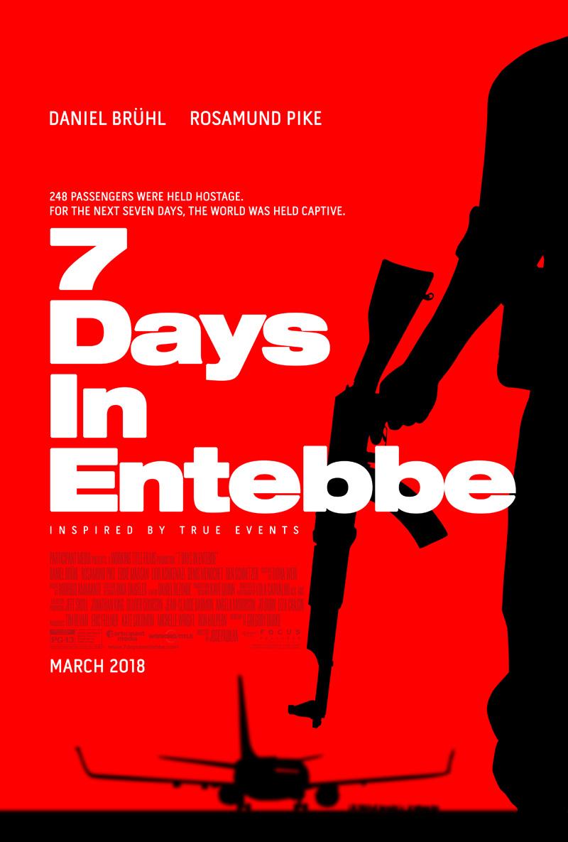 '7 Días en Entebbe': Póster internacional de lo nuevo de José Padilla