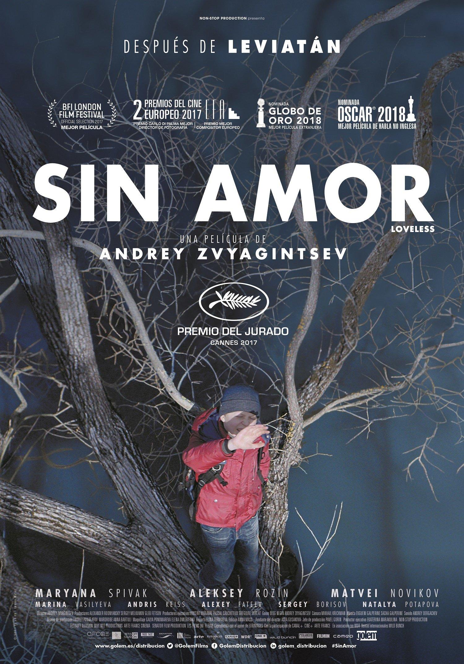 """Pósters de la película """"Sin amor"""""""