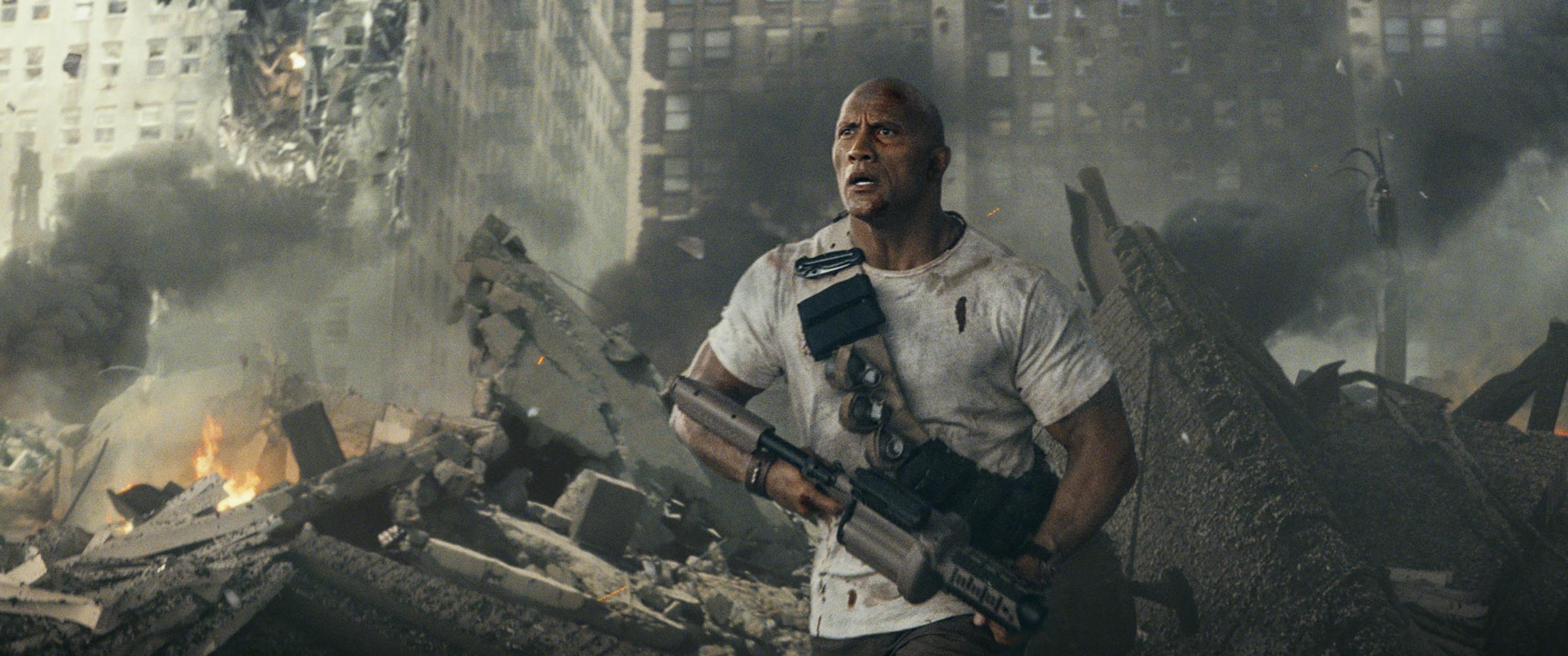 'Rampage': Anuncio de televisión de lo nuevo de Dwayne Johnson