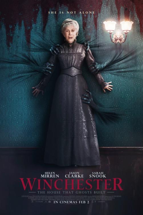 'Winchester': Nuevo póster del thriller con Helen Mirren