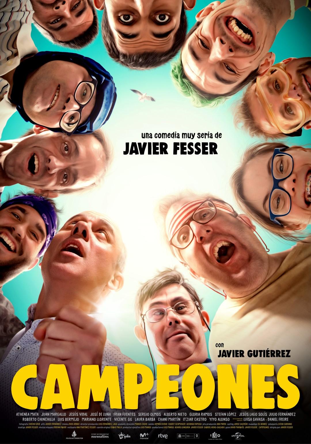 'Campeones': Póster de la película de Javier Fesser