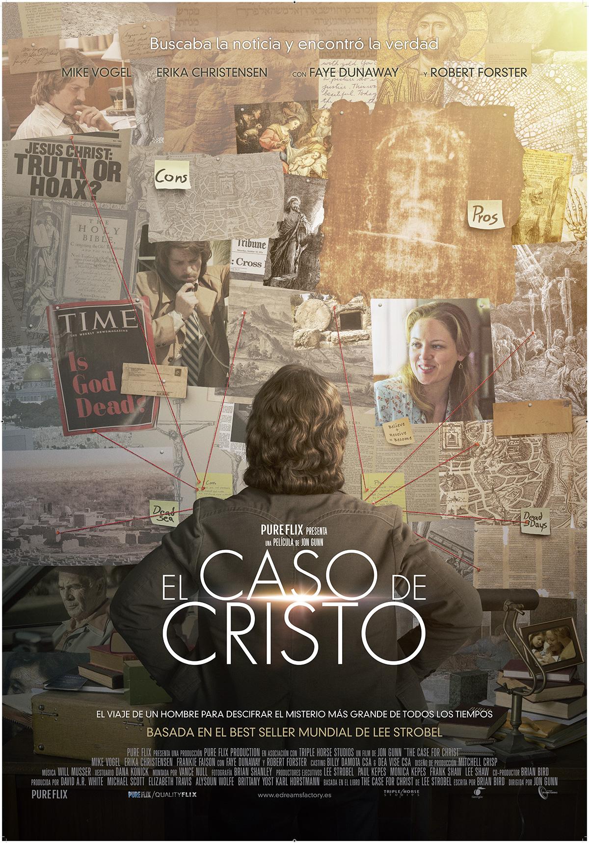 'El caso de Cristo': Póster y tráiler de la adaptación del best seller de Lee Strobel
