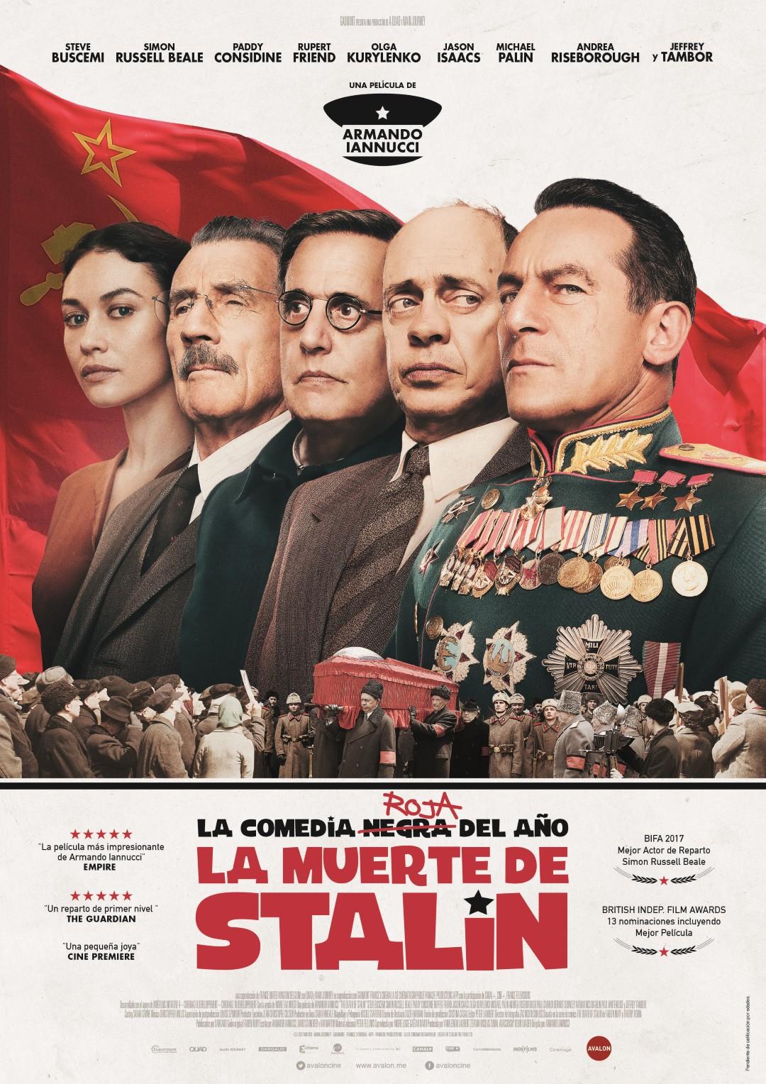 'La muerte de Stalin': Tráiler y póster español de esta divertida sátira