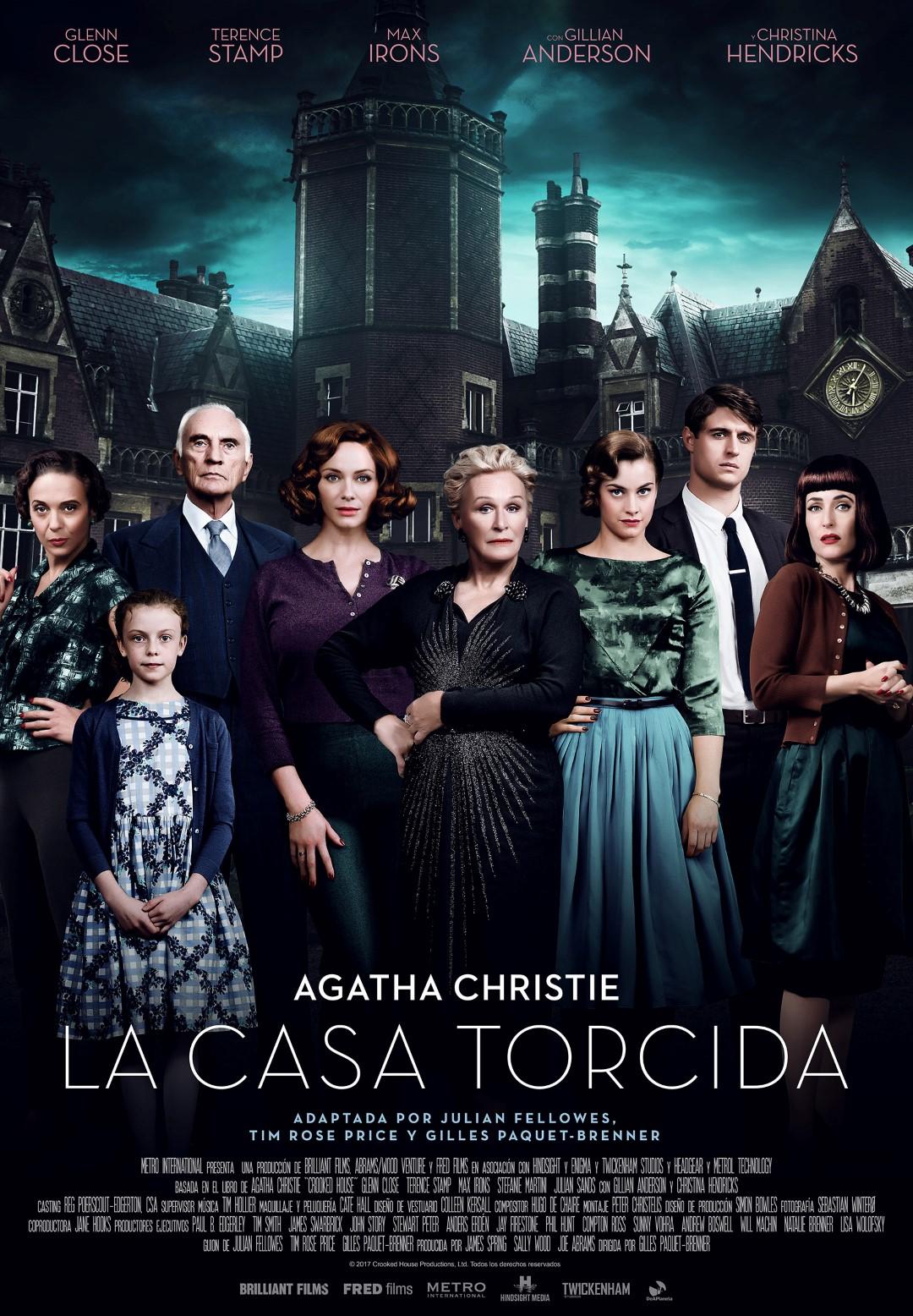 'La casa torcida': Tráiler y póster del thriller basado en la novela de Agatha Christie