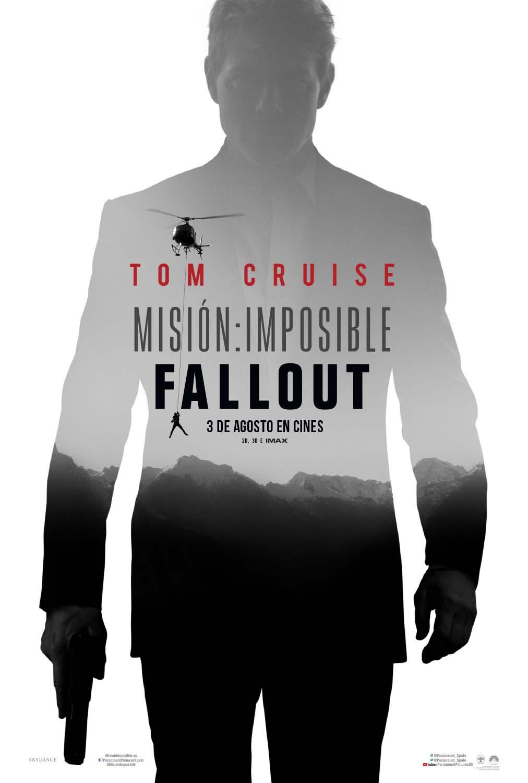 'Misión: Imposible - Fallout': Primer póster de la nueva entrega de 'Misión Imposible'