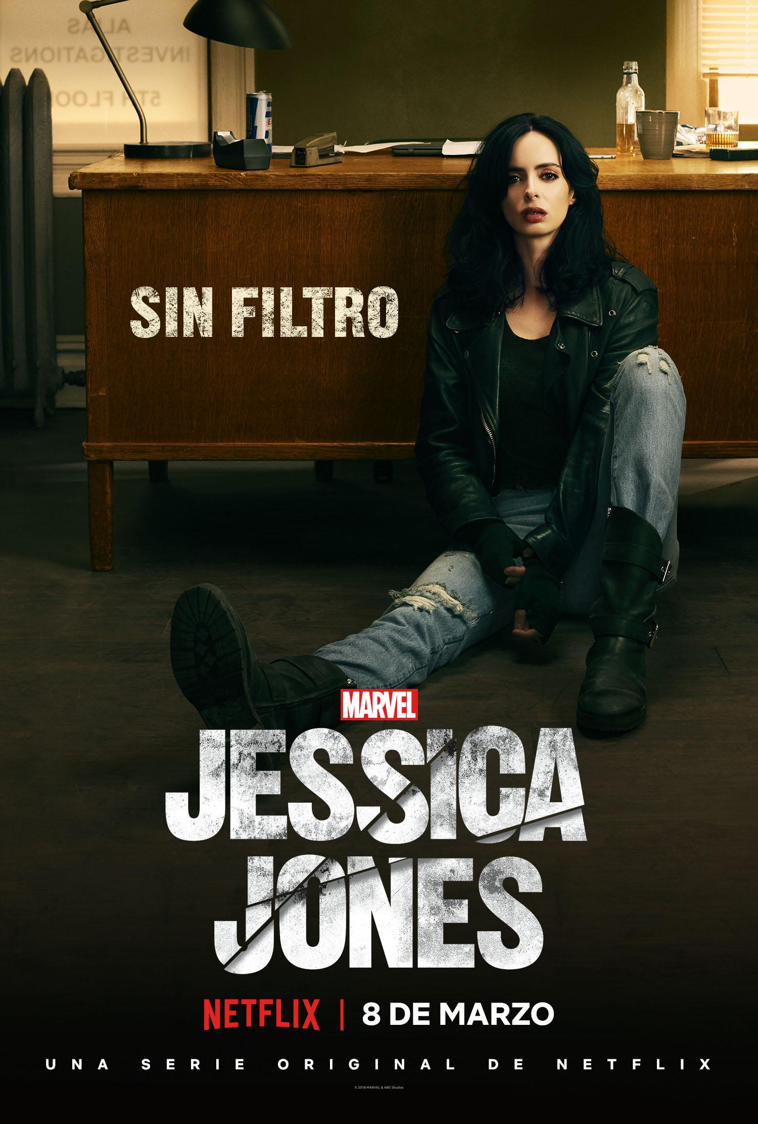 'Marvel - Jessica Jones': Póster y el tráiler de la segunda temporada