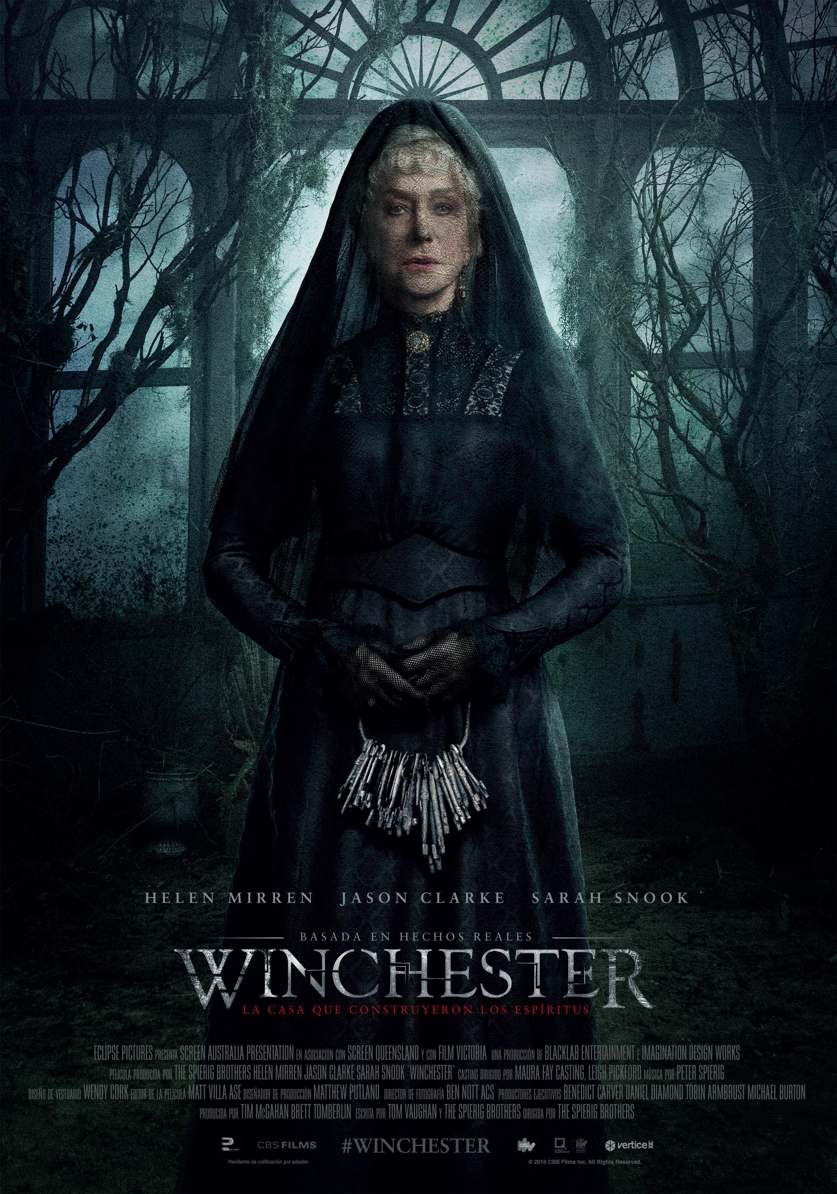 'Winchester': Póster final español del thriller de los hermanos Spierig