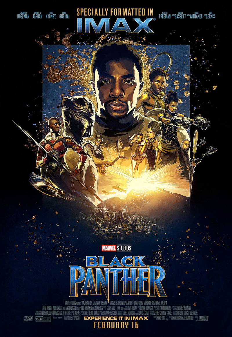 Black Panther. Imax