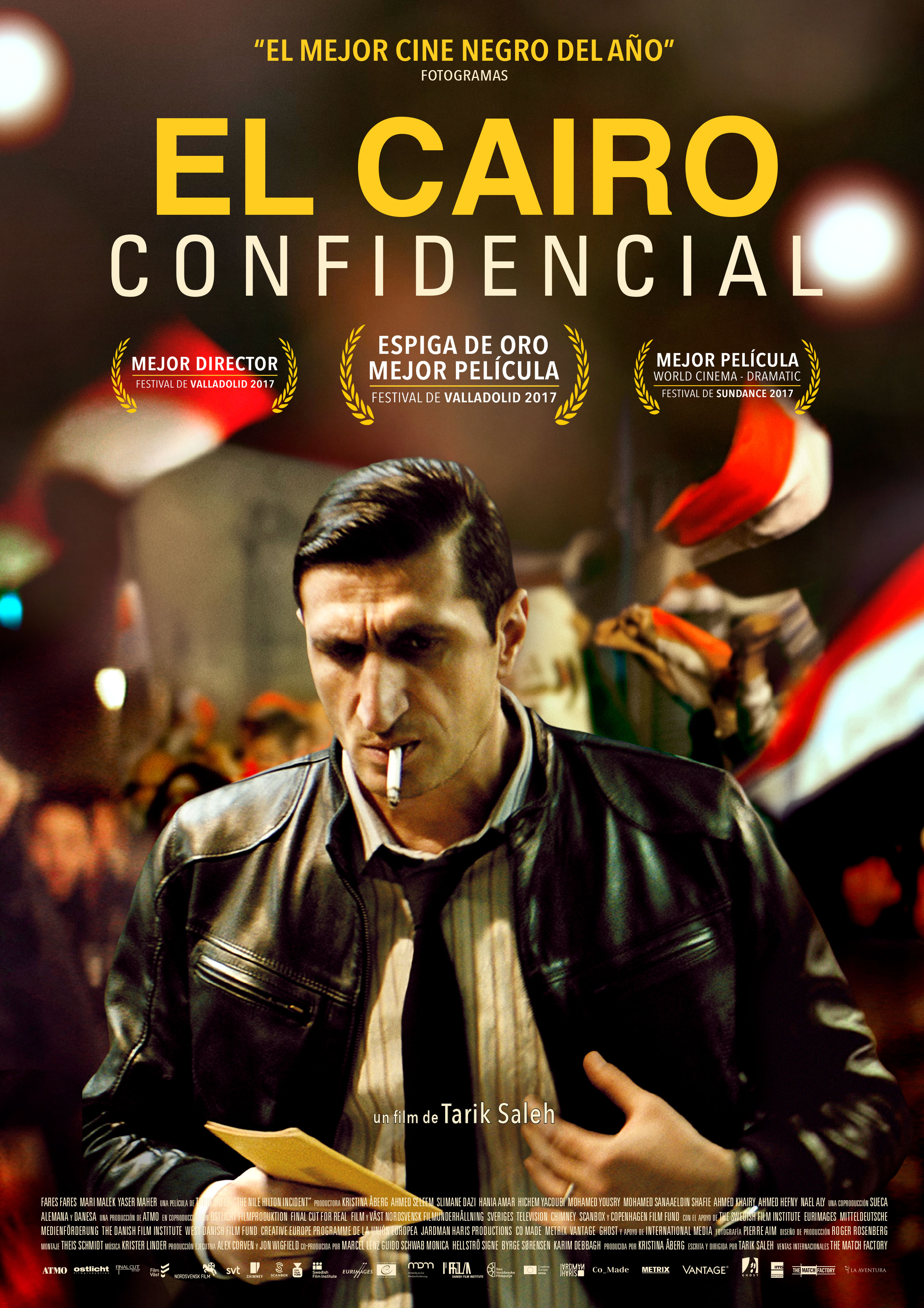 'El Cairo Confidencial': Póster y tráiler español de la Espiga de Oro de la 62 SEMINCI