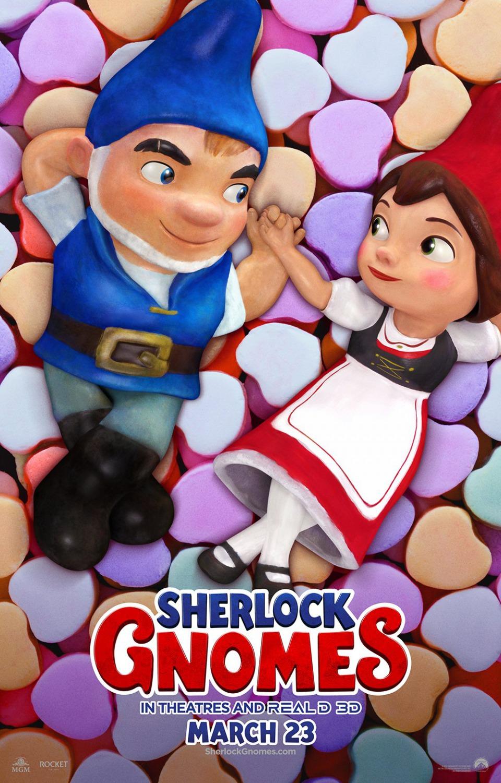 39 sherlock gnomes 39 nuevo p ster del regreso de gnomeo y for Andy panda jardin